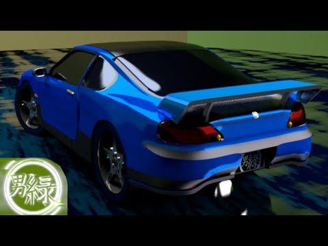 My First 3D Car! (Blender 2.68)