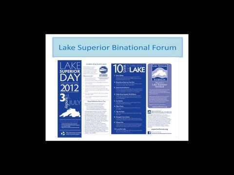 Lake Superior Day and the Binational Forum