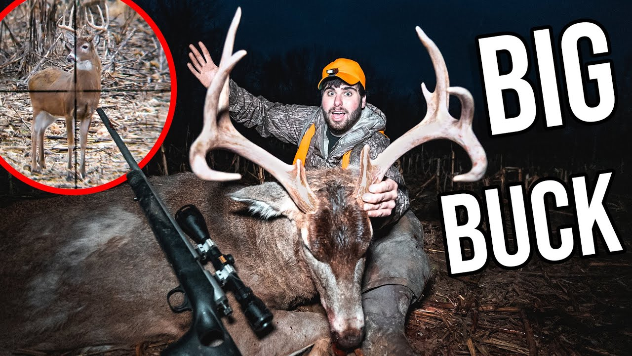 Shooting My FIRST Illinois GIANT! AMAZING SCOPE CAM!