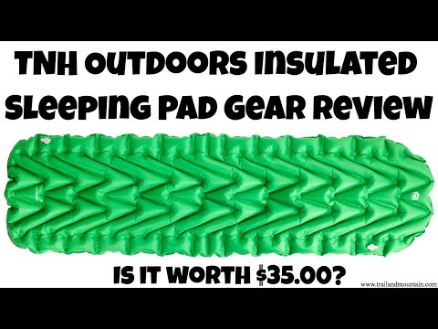 TNH Outdoors Insulated Sleeping Pad Gear Review