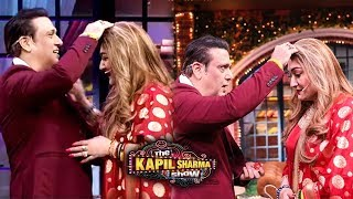 Govinda To Marry Again on TV, Fun Moments with Fans At The Kapil Sharma Show