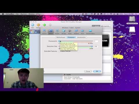 Installing Virtual Box and Windows 7 on Mac OSX