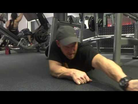 How to stretch your shoulder & biceps