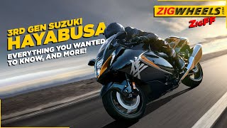 2021 Suzuki Hayabusa - All The Details You Should Know About The Third Generation 'Busa - ZigWheels
