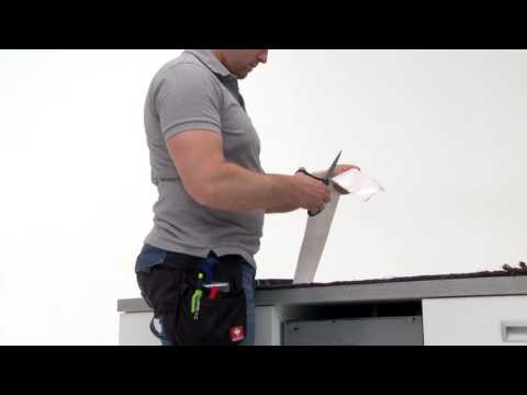How to install your Electrolux 45 cm Dishwasher - Under the Worktop installation