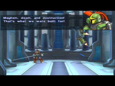 Megaman X8 - [Walkthrough 100%] Part 2