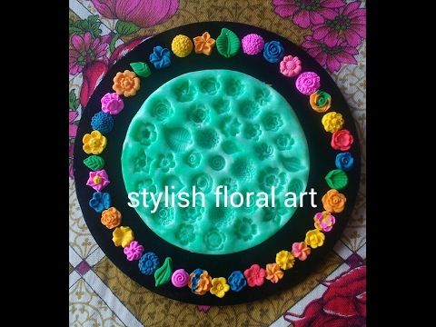 How to use Stylish Jewellery Mold's Plate