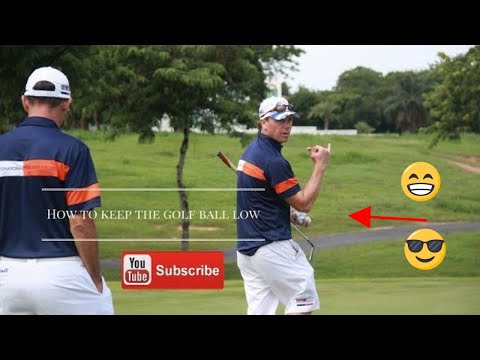 how to hit the golf ball low - how to hit low iron shots - how to hit your mid irons low