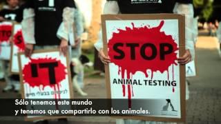 Making-of spot Stop Vivisection. Entrevista a Ilana Yahav