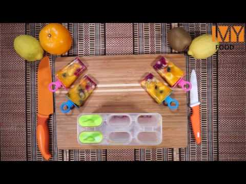 How to make Mixed Fruit and Mango Juice Popsicles