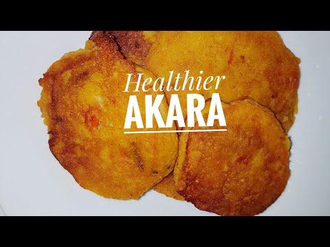 'Healthier' Nigerian Akara (bean cake)| Nigerian food