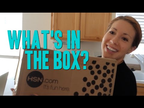 HSN UNBOXING!