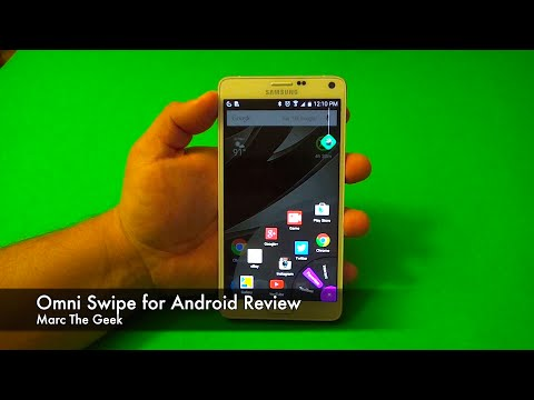 Omni Swipe for Android Review  (Former Lazy Swipe)