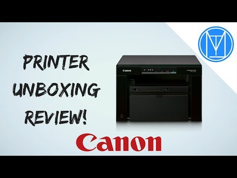 Canon MF3010 Printer Unboxing Review (2017)!