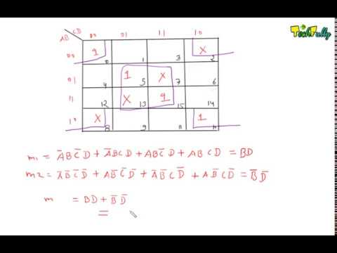 Don't Care Terms In K-Map ( Solution ) In Hindi By Nirbhay Kaushik