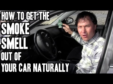 How to Get Smoke Smell Out of Your Car or House Naturally