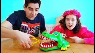 Crocodile Challenge with Dad !