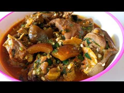 Ogbono Soup with Okra: How to Prepare Ogbono Soup with Okra