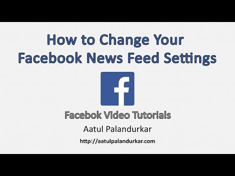 How to Change Your Facebook News Feed Settings
