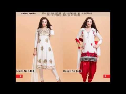 Latest churidar Punjabi suit  collection #Andaazfashion