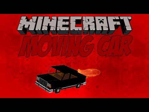 MINECRAFT MOVING CAR