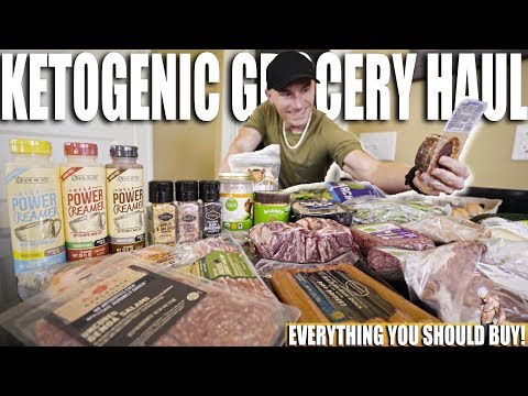 KETO DIET GROCERY HAUL | Buying On A Budget | Ketogenic & Low Carb Food List
