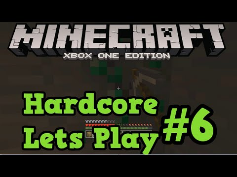 Minecraft Xbox One / PS4 Hardcore #6 - How To Find Emeralds