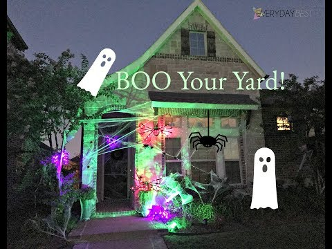 5 Tips for making your yard Halloween Ready!