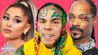 Tekashi 69 is mad at Ariana Grande, Justin Bieber, and Billboard!   Tekashi trolls Snoop Dogg