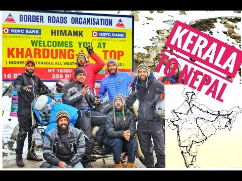 GoPro : India and Nepal Road Trip || Trailer || 26300 KM  || Royal Enfield Classic 500