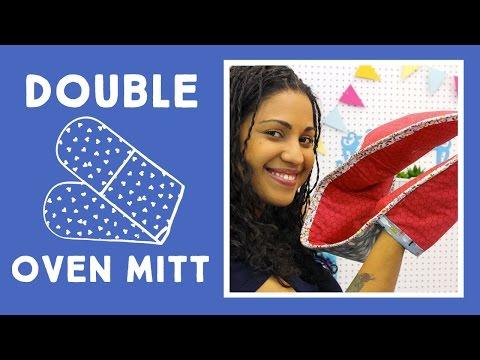 Easy DIY Double Oven Mitt