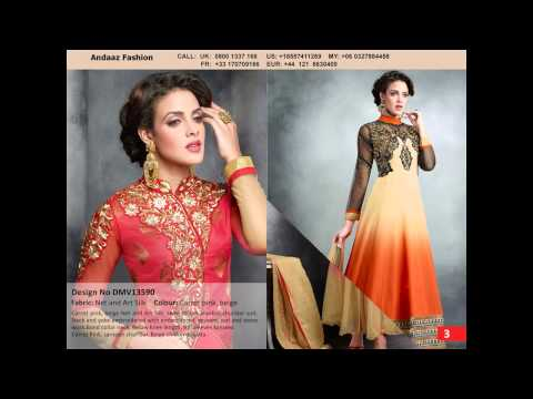 BollyWood Anarkali Suits By Andaaz Fashion Malaysia