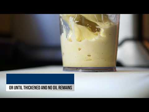How to Make Mayo with an Immersion Blender