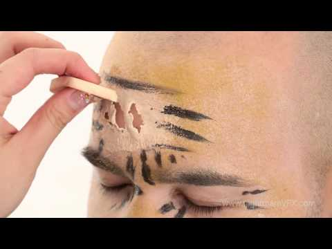 Simple zombie makeup tips