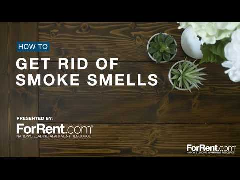 How To Get Rid of Smoke Smells