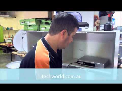 How to fit a satellite TV point in a caravan or motorhome.wmv