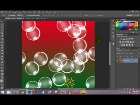 how to make bubbles effect in photoshop tutorial bangla