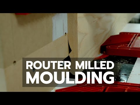 Router Milled Moulding