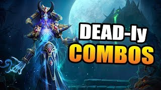 Kel'thuzad - the risks of combos // Heroes of the Storm
