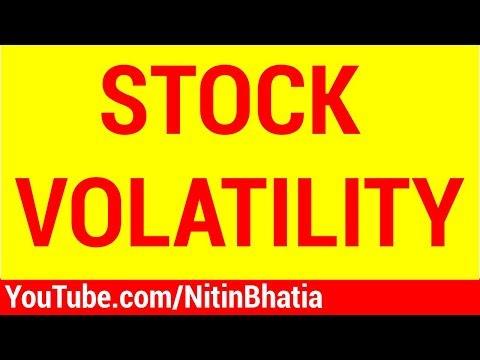 Stock Volatility and Technical Indicators   HINDI