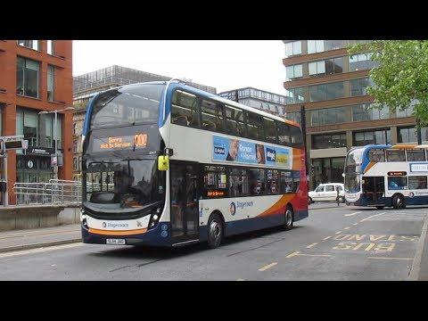 Buses Trains & Metrolink in Manchester June 2018