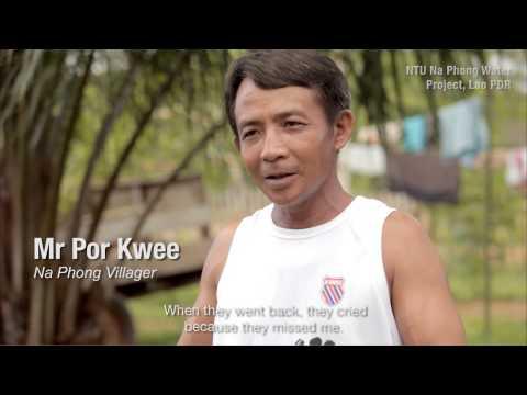 Undergrads from NTU Singapore bring fresh water to village in Laos