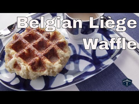 Absolute Best Traditional Belgian Liège Waffle | Le GourmetTV Recipes