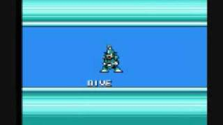 Mega Man 4 - Dive Man Perfect Run