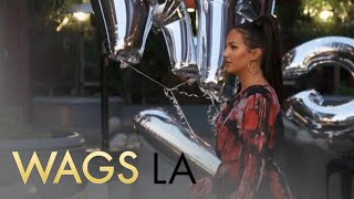WAGS LA | Olivia Pierson & Natalie Halcro Struggle With Party Balloons | E!