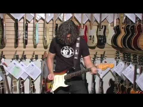 PHIL X GOES CRAZY! DOES INSANE HENDRIX  ON A 1969 Fender Stratocaster 01020
