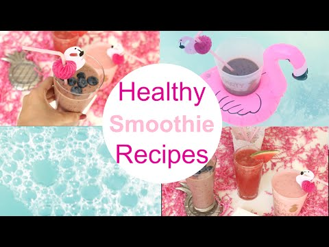 Healthy Smoothie Recipes/ Pinterest Inspired Recipes