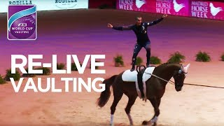 LIVE 🔴 | FEI World Cup™ Vaulting | Madrid Horse Week