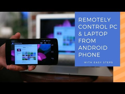 How to Control PC/MAC & Laptop from Android Phone (Easy Steps)