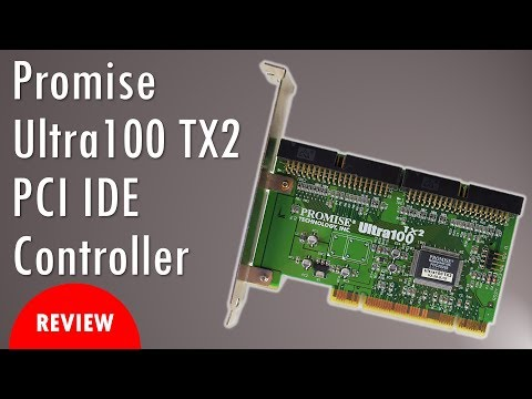 Promise Ultra100 TX2 PCI IDE Controller review with benchmarks